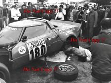 Bernard DARNICHE LANCIA STRATOS HF TOUR DE FRANCE RALLY 1975 fotografia 1