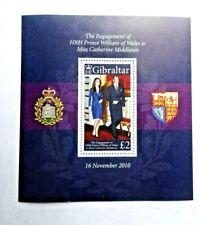 Gibraltar Scott Mnh #1266 - S/S Engagement Of Prince William, Cv $6.50