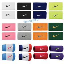 "NIKE Double Wristbands 5"" Wide Tennis Basketball Baseball Running Golf"