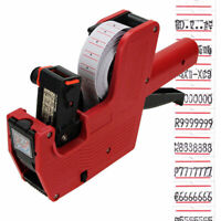 NEW Price Tag Gun MX-5500 8 Digits EOS Labels + 1*Ink