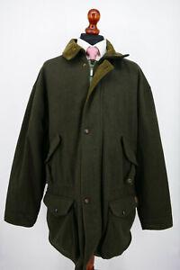 Deerhunter Herbst Winter Mantel Gr.60 Schurwolle Green Label NEU mit Etikett