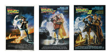 Back to the Future 4R 3pcs Post Card Water Proof Double Sided Photo Paper