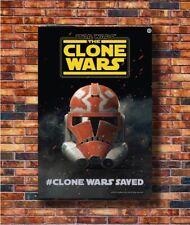24x36 14x21 Poster Star Wars The Clone Wars Movie 2019 Season 7 Saved Art P-3287