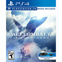 Ace Combat 7 Skies Unknown PS4 PlayStation 4, Brand New