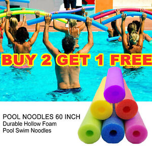 Child Adult Flexible Learn Swimming Pool Noodle Water hollow Floating Aid Stick