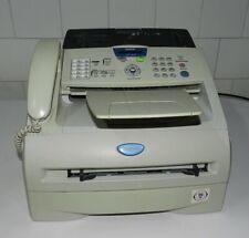 Fax laser monocromo papel normal copiadora Brother FAX-2825