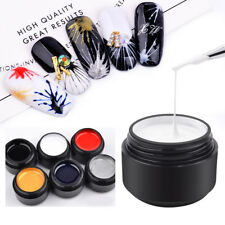 Nails Art UV Gel Drawing Elastic Line Painting Gel Varnish Silk Spider Graffiti