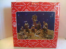 Turtle King Giovanni Giftware Collection 100% Handmade Nativity Set 12 Pieces