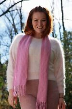 Angora Sweater with Scarf and Pants