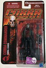 G.I. Joe Pursuit of Cobra 3 3/4 Inch Action Figure Cobra Commander GIJOE NOC