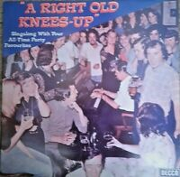 "Verdi & Jimmy Silver A Right Old Knees-Up 12"" Vinyl LP Album Record"