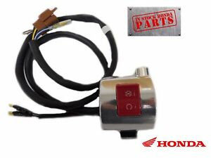 New Genuine Honda Right Stop Kill Switch Housing Many VT1100 Shadow OEM (READ)