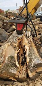 Black Splitter screw splitter hydraulic log splitter cone splitter model S2 800