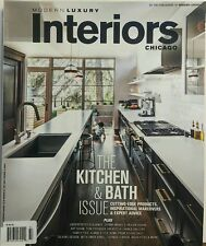 Modern Luxury Interiors Fall Winter 2015 Kitchen & Bath Issue FREE SHIPPING sb