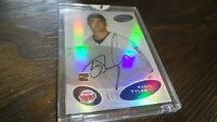 2003 BOWMAN'S BEST SCOTT TYLER  AUTOGRAPHED BASEBALL CARD
