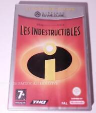 Jeu LES INDESTRUCTIBLES nintendo GAME CUBE francais disney pixar juego spiel