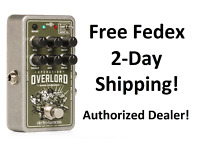 New Electro-Harmonix EHX Nano Operation Overlord Overdrive Effects Pedal