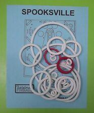 1973 Allied Leisure Spooksville pinball rubber ring kit