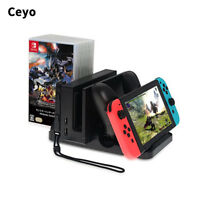 Multi-function Charging Dock Stand For Nintendo Switch/ Joy-Con & Pro Controller