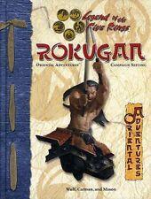 L5R ROKUGAN AEG3103 VF! Oriental Adventures HC D20 D&D Dungeons & Dragons 3103