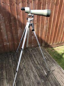 Opticron SSF 75 75mm Spotting Scope Body, 22-47x Zoom Eyepiece. Plus Tripod.