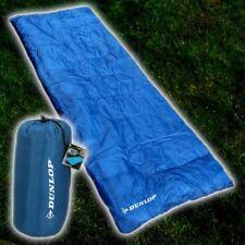 DUNLOP Einzel Decken Schlafsack 190 x 75 cm Sommer 1 Personen Sleeping Bag Decke