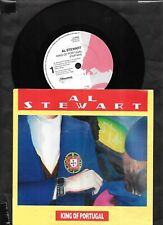 """Al Stewart  - King of Portugal - 1988 7"""" picture sleeve single 45rpm"""