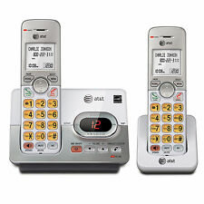 AT&T DECT 6.0 2-Handset Cordless Phone w/ Digital Answering System & Caller ID