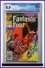 Fantastic Four #277 CGC Graded 8.0 Marvel 1985 Newsstand Edition Comic Book.