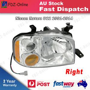 HEAD LIGHT LAMP For Nissan Navara D22 UTE 2001-2014 Right Driver Side RH RHS