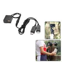 1X(DMW-DCC8 DC Coupler USB Power Adapter Camera Charger Kit for Panasonic D T5X4
