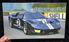 FORD GT40 Mark II 1966 Le Mans 1/24 FUJIMI MODEL KIT