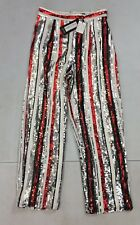 Look of the day stripe sequin trousers multi size UK8 BOX21