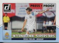 Donruss SOCCER 2015 GOLD [99] INT. SUPERSTARS Chase Card #61 DIEGO FORLAN