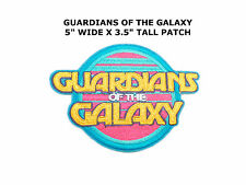 "Guardians of the Galaxy Logo 3"" Tall Embroidered Patch- FREE S&H (MCPA-GG-01)"