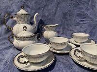 Vintage Seyei Fine China #1031 Tea Set 13 Pieces