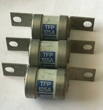 LAWSON125 TFP 125a FUSE'E SET OF 3 OFF SET BOLTED A4 415v BS88 GG (977)