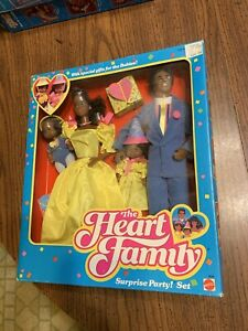 Vintage Barbie African American Heart family Surprise Party Set 1980's
