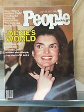 PEOPLE Magazine, April 18, 1977, JACKIE ONASSIS-KENNEDY D39