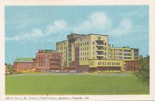 Hôtel Dieu St. Vallier CHICOUTIMI Quebec Canada 1940-50s PECO Postcard