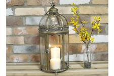 Lantern Candle Holder Tea Light Metal Home Decor Rustic