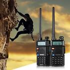 BAOFENG UV-5R Handheld Two-way Ham Radio Interphone Walkie Talkie Key Lock X1N3