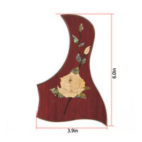Kmsie Guitar Pickguard for 38-41 inch Acoustic Classical Guitar Parts Cocopolo