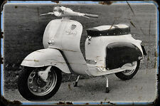 1960 agrati capri Bike Motorcycle A4 Photo Poster