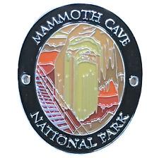 Mammoth Cave National Park Walking Stick Medallion - Kentucky - Traveler Series