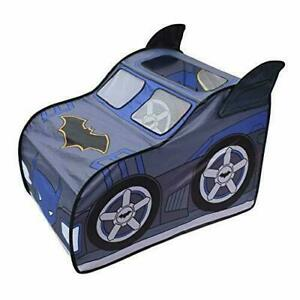 Batman Pop Up Batmobile Tent Indoor Playhouse for Kids Toy Gift for Boys