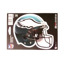"PHILADELPHIA EAGLES HELMET WINDOW DECAL 5.25"" X 6.25"" NFL STICKER CAR DIE-CUT"