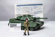 Vintage GI JOE -1983 MOBAT Tank w/ Driver Steeler - 100% Complete - HASBRO