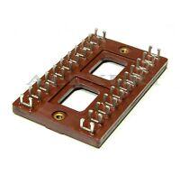 6 pcs 22-pin Bakelite Terminal Tag Turret Board T2 Vintage HIFI Guitar Amp USSR
