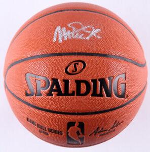 Magic Johnson Signed NBA Game Ball Series basketball (Beckett COA) Lakers